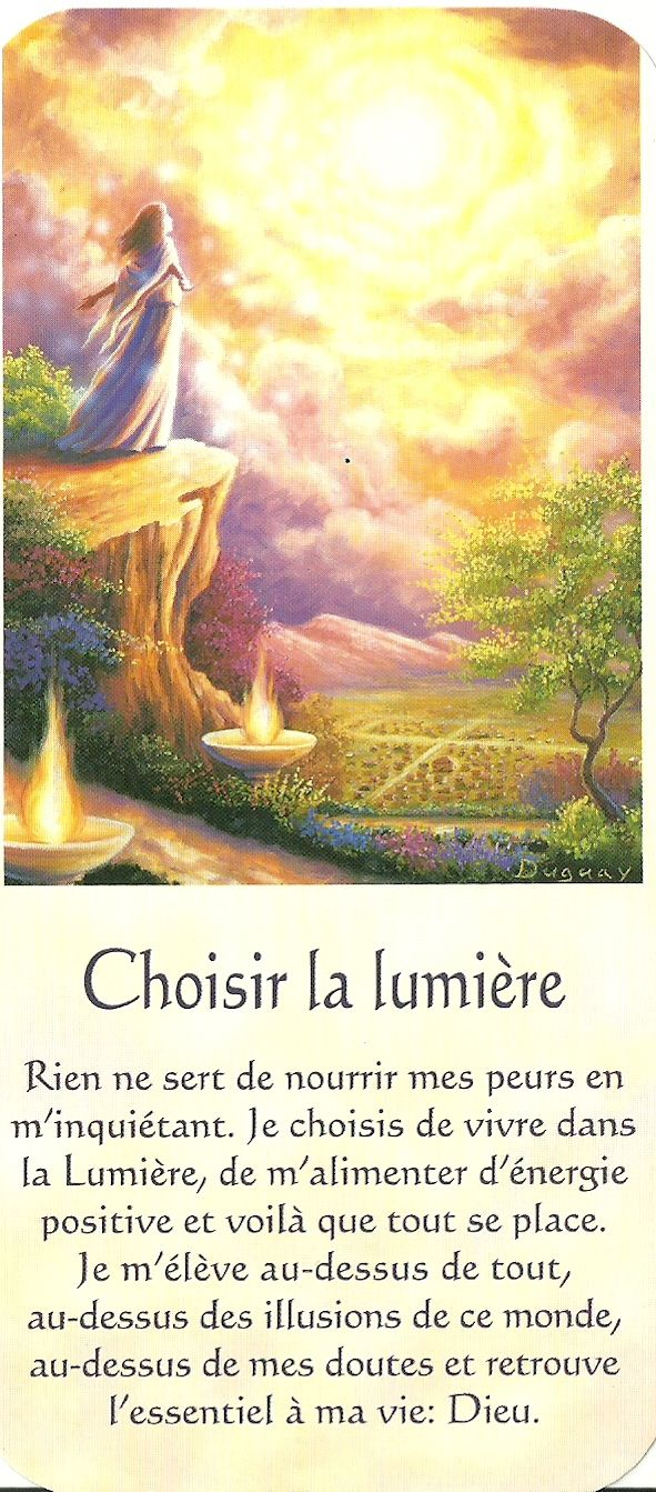 Mario Duguay Message Lumiere Choisir La Lumiere Spiritualite