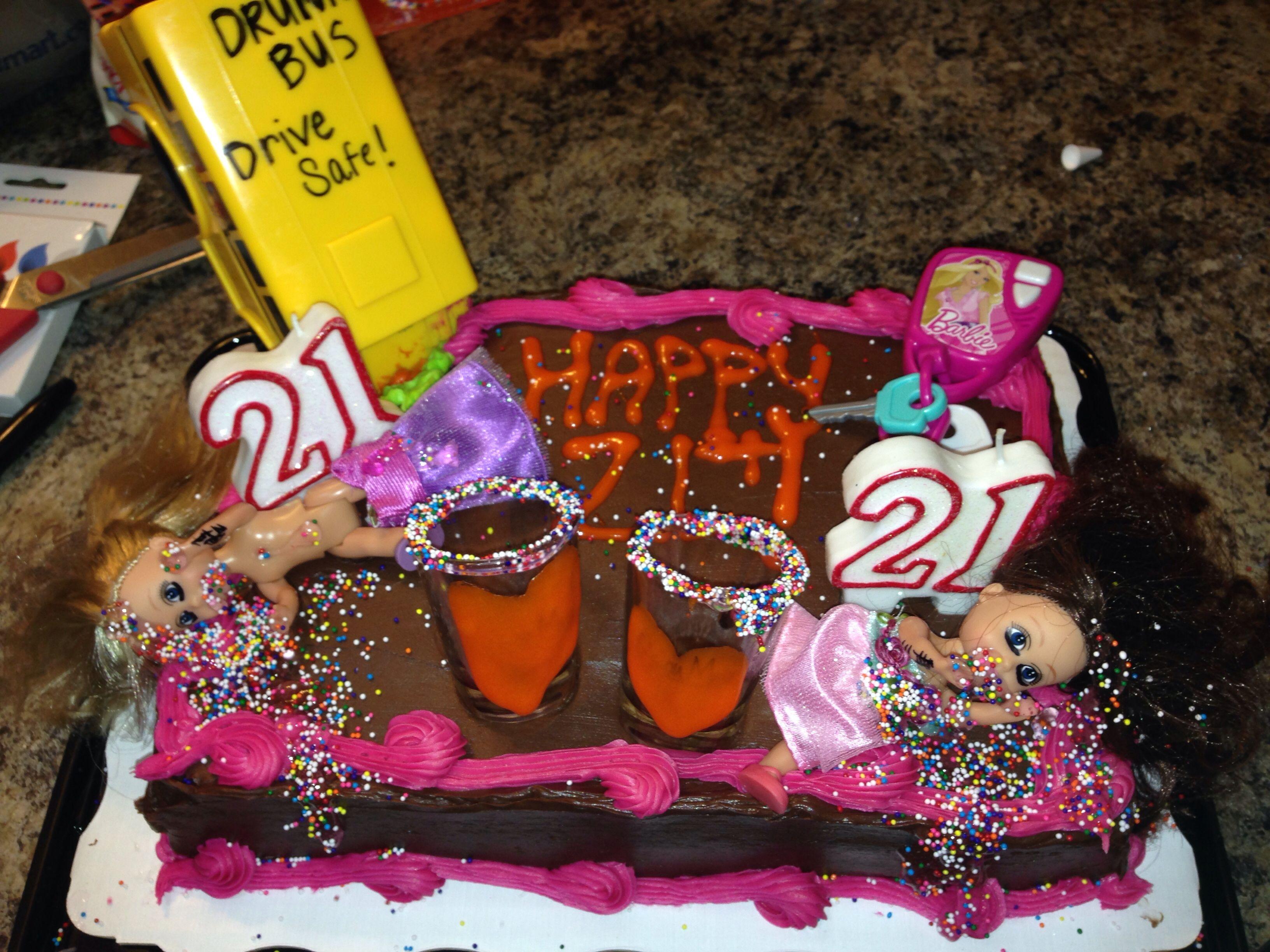 21st Birthday Cake For Twins Haha Twins Cake Twin