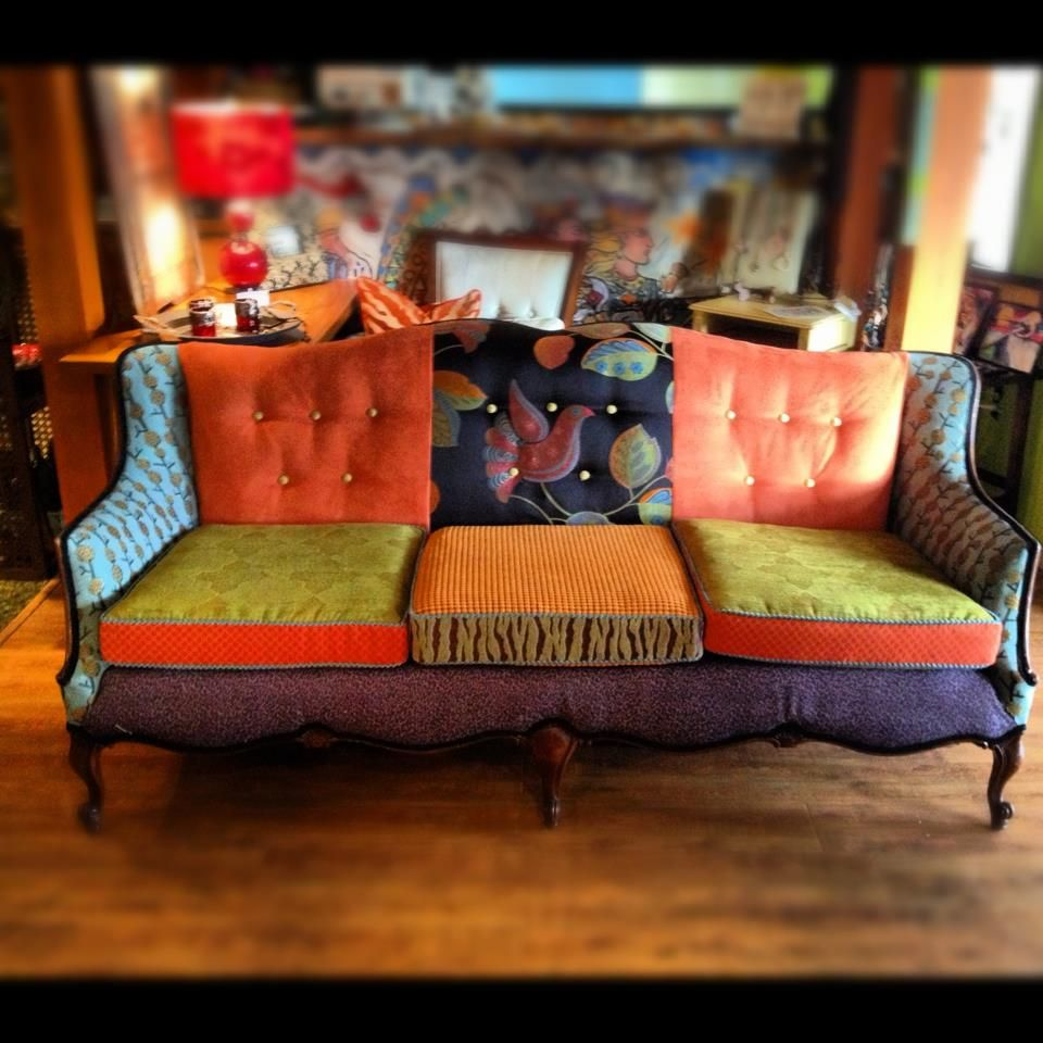 Patchwork Sofa Created By Designer Amy Schrock At