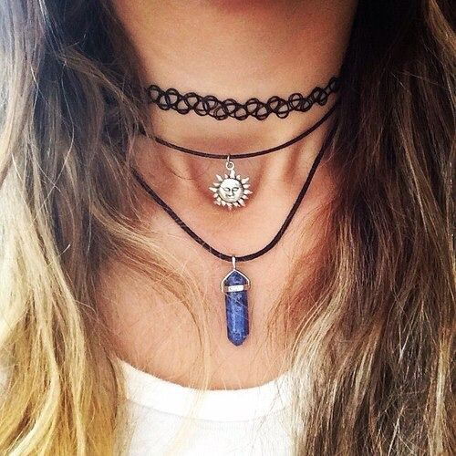 Choker Necklace Tumblr 3 Choker Necklace Jewelry Chokers