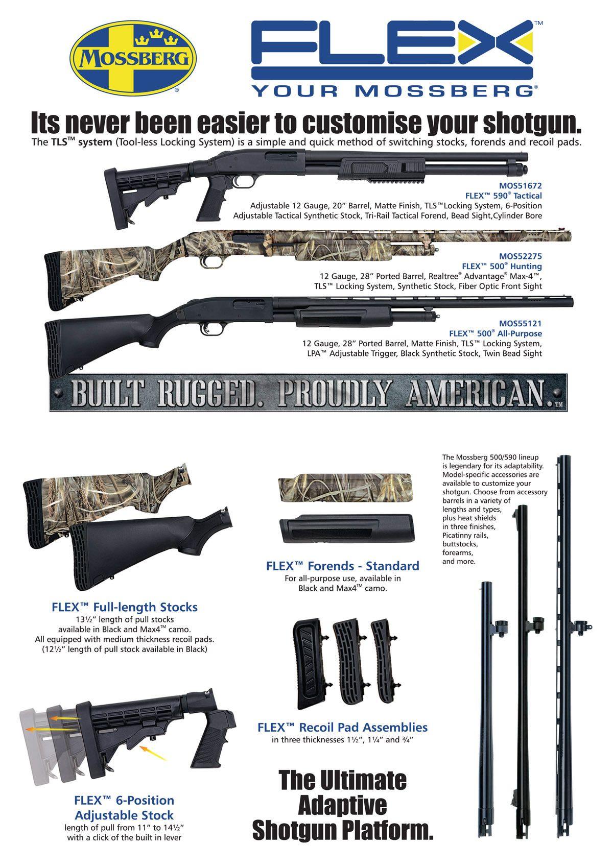 Mossberg FLEX System | Firearms | Guns, Firearms, Shotgun