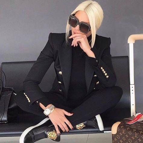 Balmain Inspired Blazer Outfit | Balmain blazer outfits