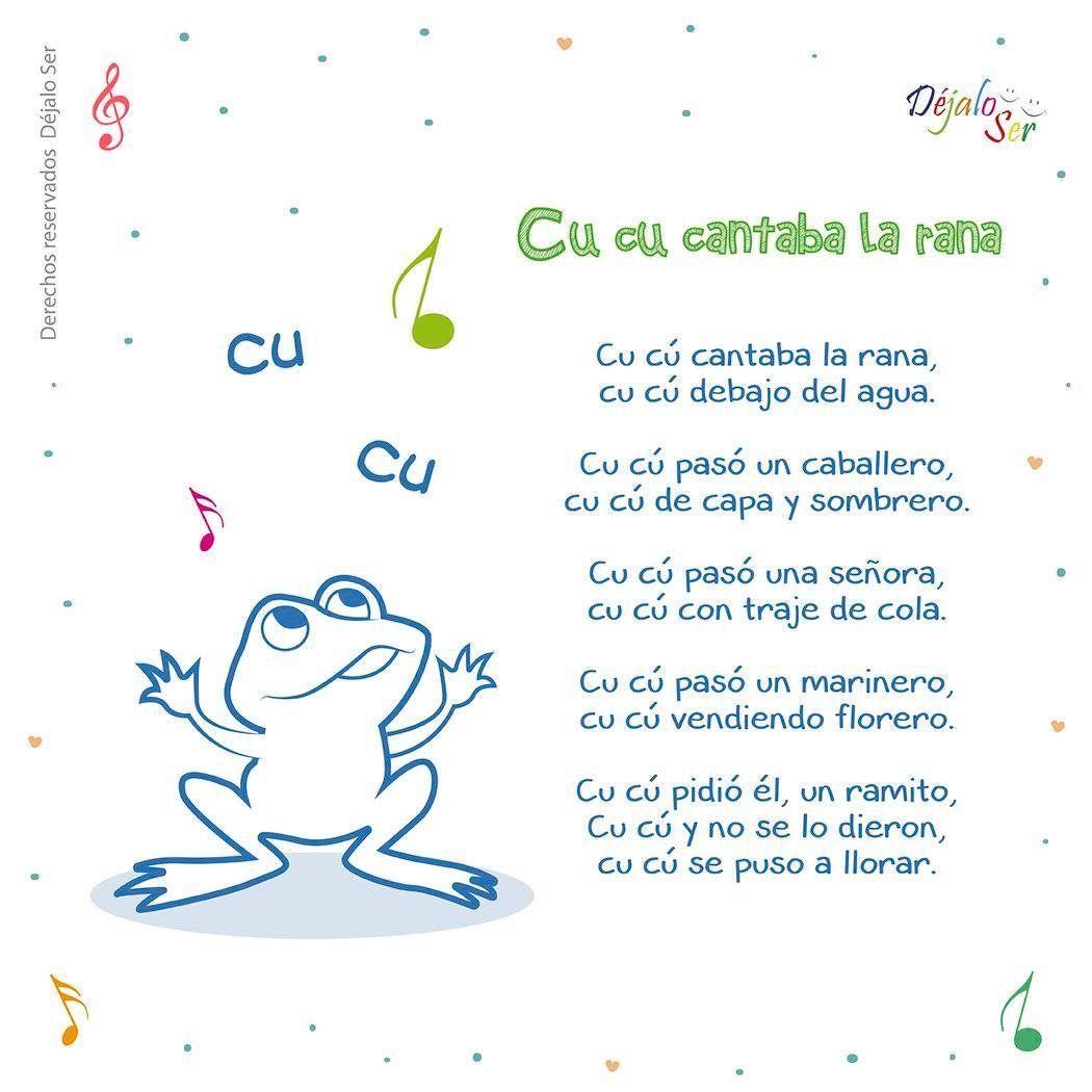 Pin De Ruth N Hernandez En Kinder Ideas Letras De Canciones Infantiles Canciones Escolares Cancionero Infantil