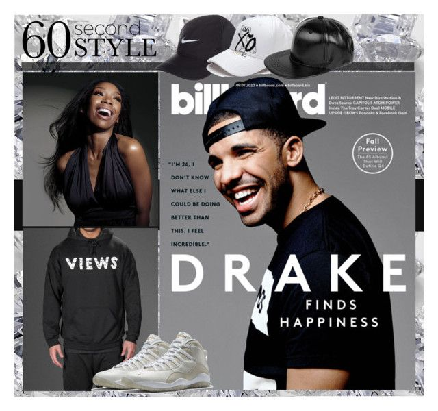 """Drake's Album Views Inspired Style"" by yours-styling-best-friend ❤ liked on Polyvore featuring Drakes London, Boohoo, men's fashion and menswear"