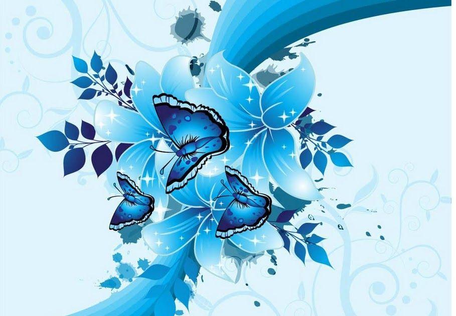 Fantastis 30 Wallpaper Biru Bunga Minimalis Eropa Yang Modern Mural Besar Ruang Tamu 3d Biru Bunga Abstraksi Hd Wallpaper De Abstrak Poster Bunga Bunga Biru