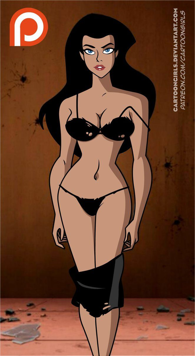 justice league unlimited women nude