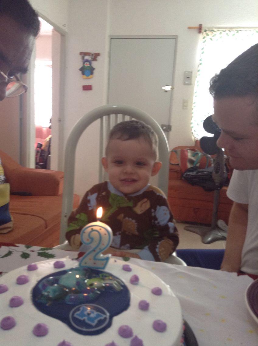 Cumpleaños de mi bebe hermoso!!
