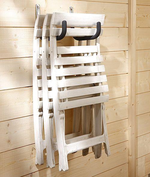 Garden Furniture With Storage garden+furniture+wall+hook   garage organization   pinterest