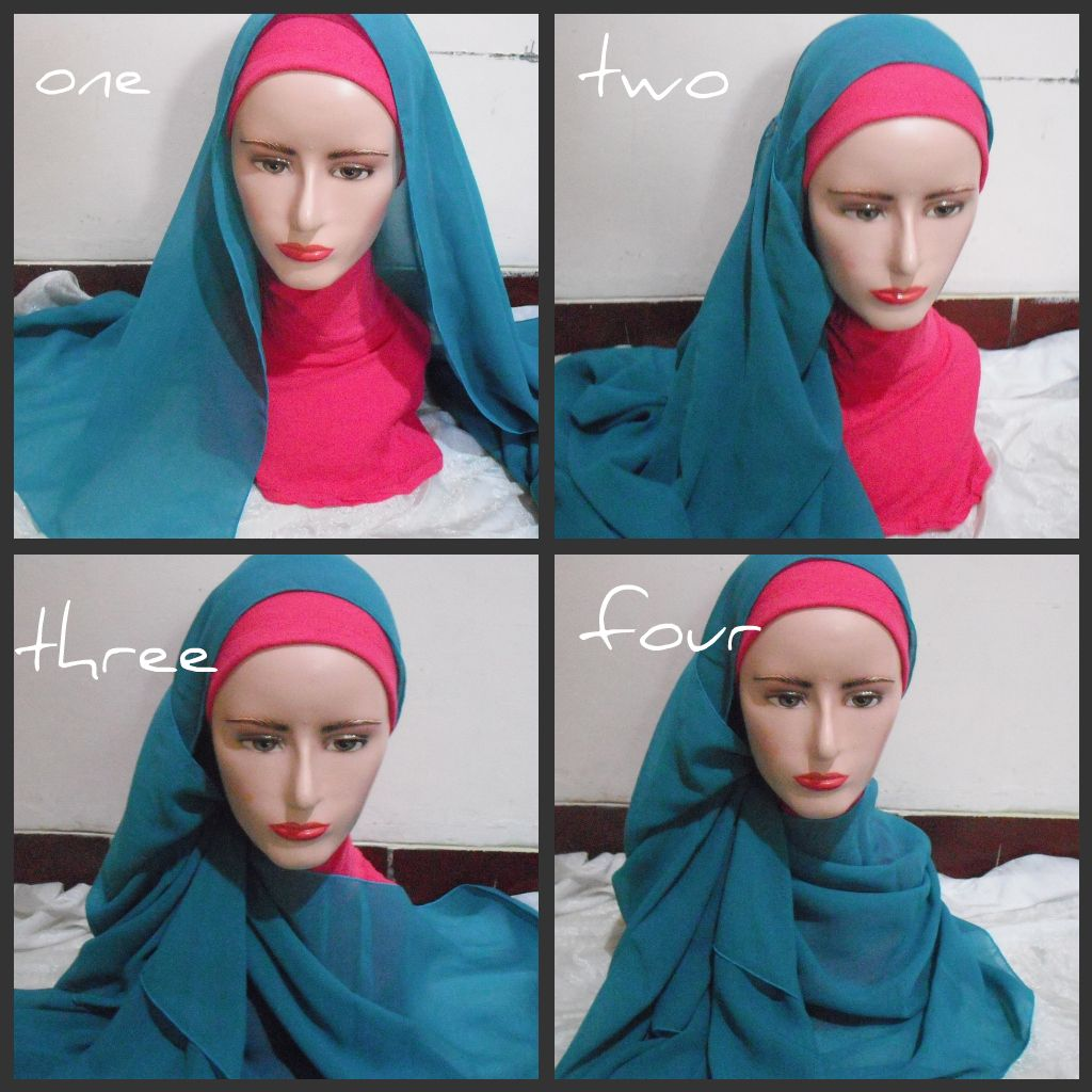Hijab Tutorial Hijab Outfit Pinterest Hijab Tutorial