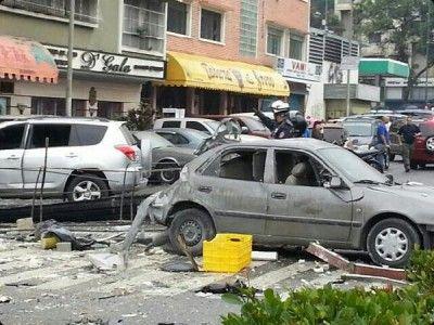Explosión en La Carlota