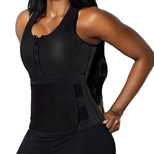 Women Sweat Sauna Vest Slimming Body Shaper Neoprene Waist Trainer Top Shapewear