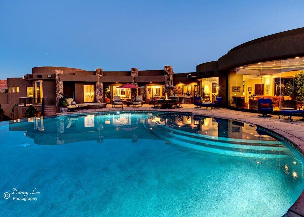 Clic Exterior St George Utah Pool 3 Split Rock Design Rsw