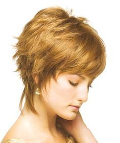 70S Shag Haircut | label celebrity models pure shag hair style short shag hair style