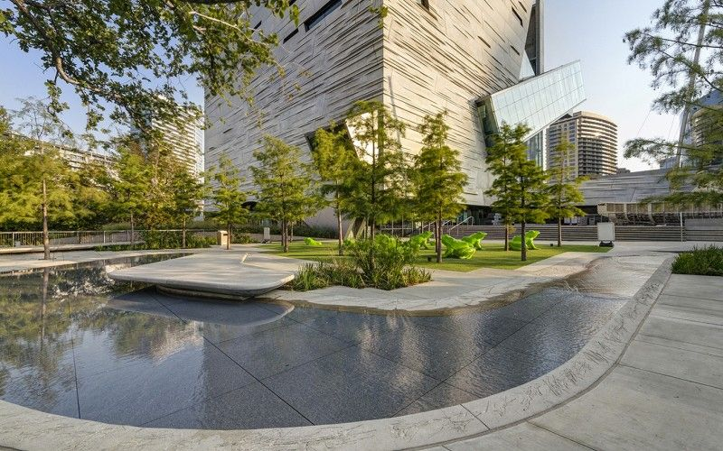 Perot Museum Of Nature And Science Talley Associates