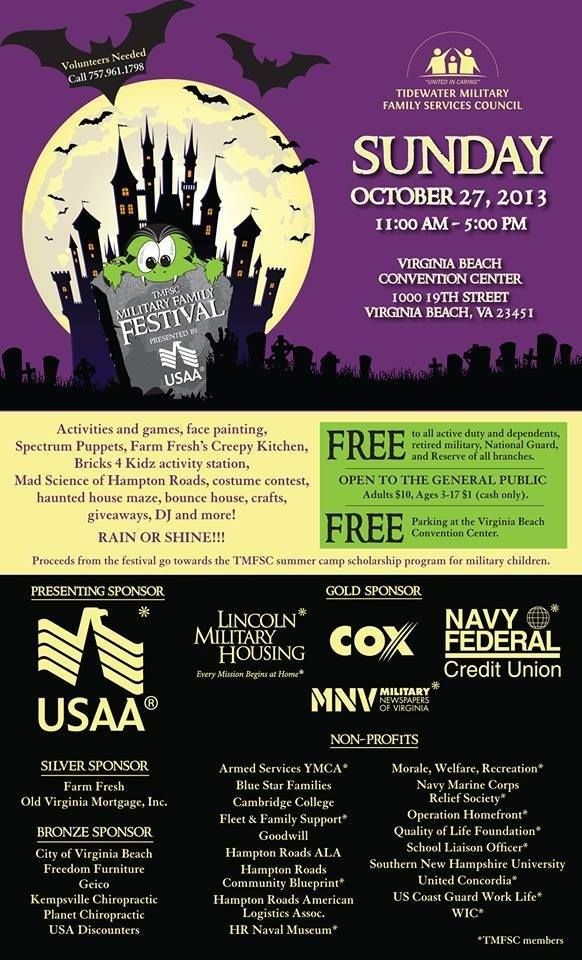 2013-Oct 27 Military Family Festival Local Events Pinterest - fresh blueprint events pictures