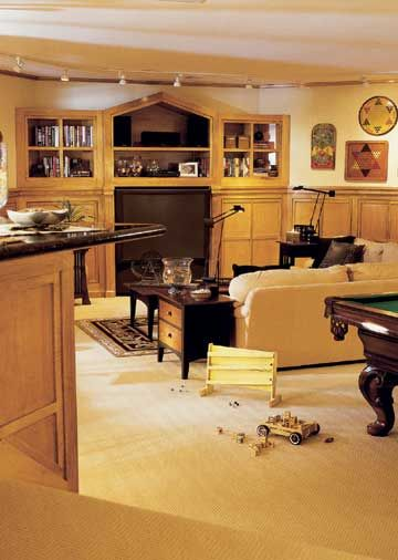 10 Things To Know About Finishing A Basement Create A Lower Level With High  Style And Function.