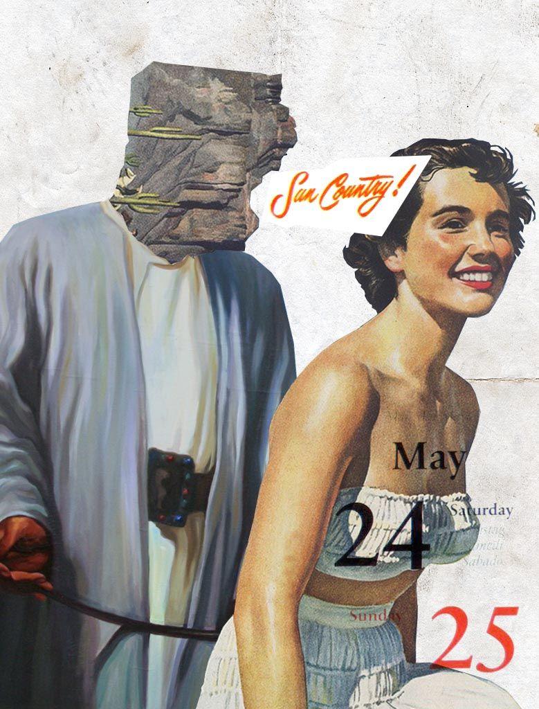 24-25/05/2014 Otello #collage ilustración collage by Gustavo Solana