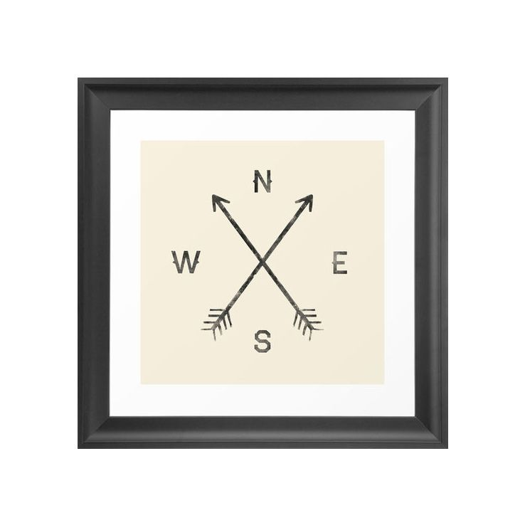 Get set in the right direction with this cool hipster print Itu0027s - kunst fürs wohnzimmer