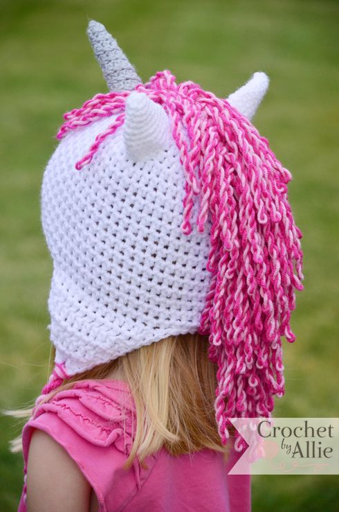 Unicorn Hat | Custom Crochet hats and accessories | Gifts | Pinterest