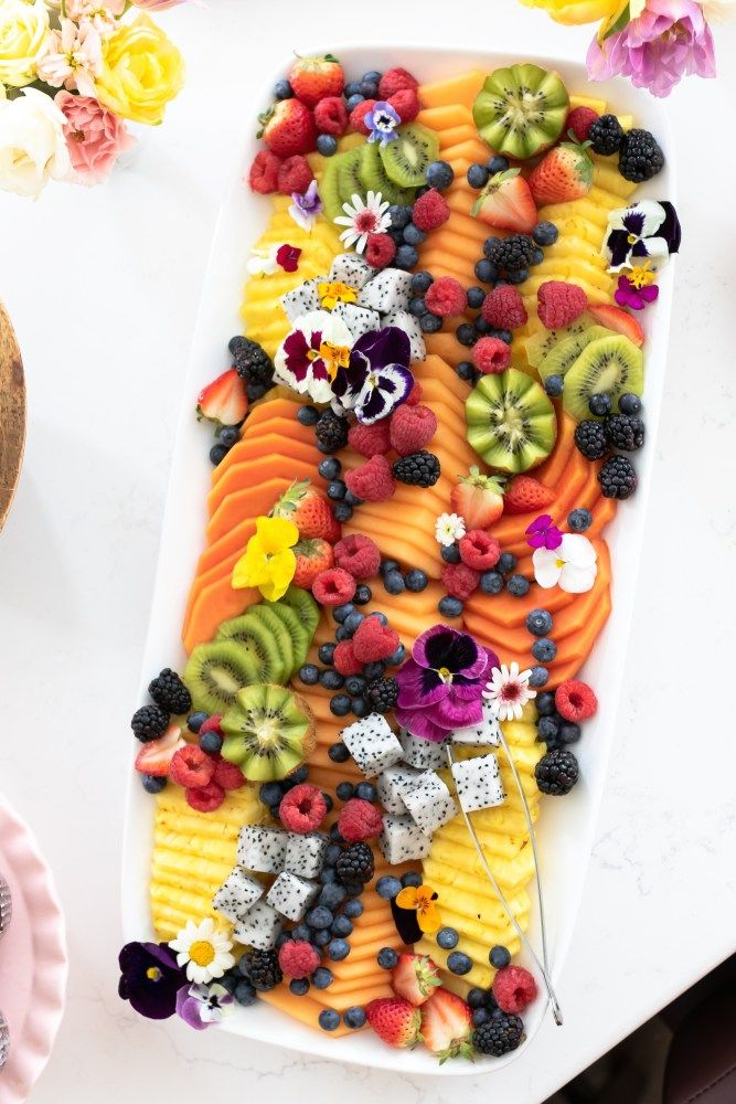 How to Build a Beautiful Fruit Tray - SevenLayerCharlotte