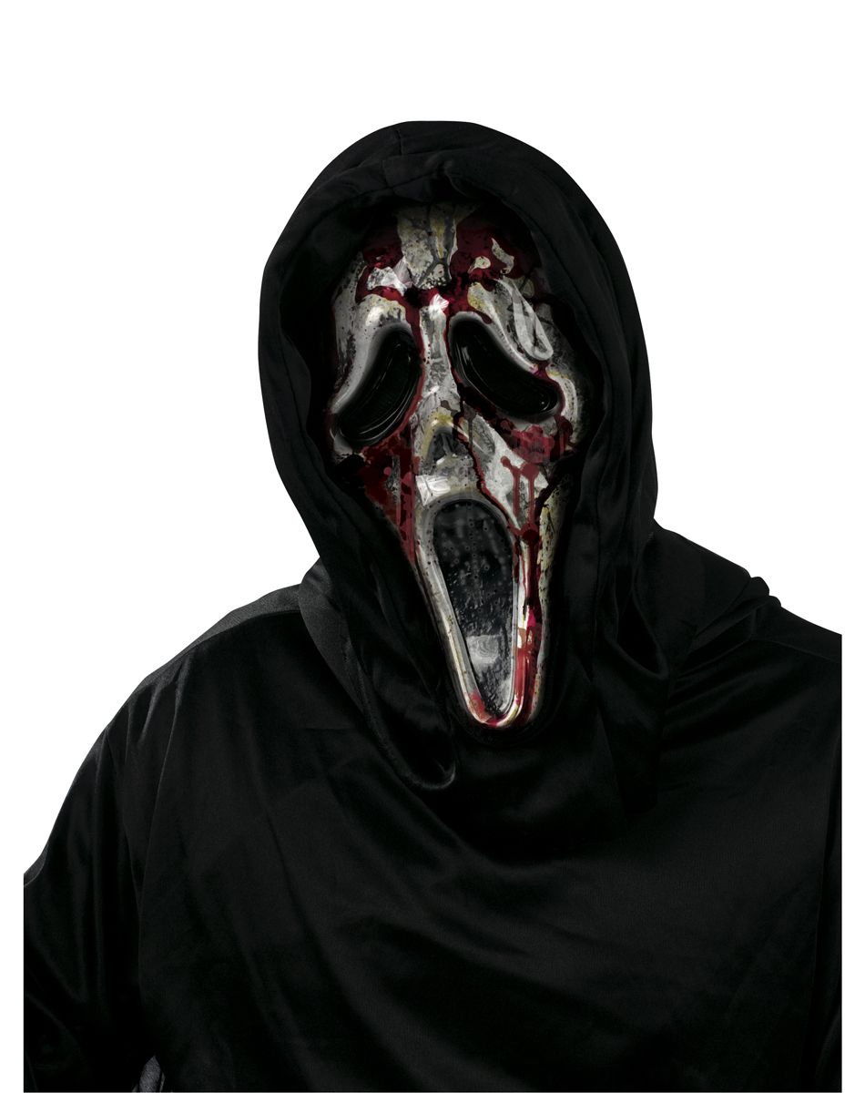 Bleeding Zombie Ghost Face Mask | Halloween Costumes/Accessories ...