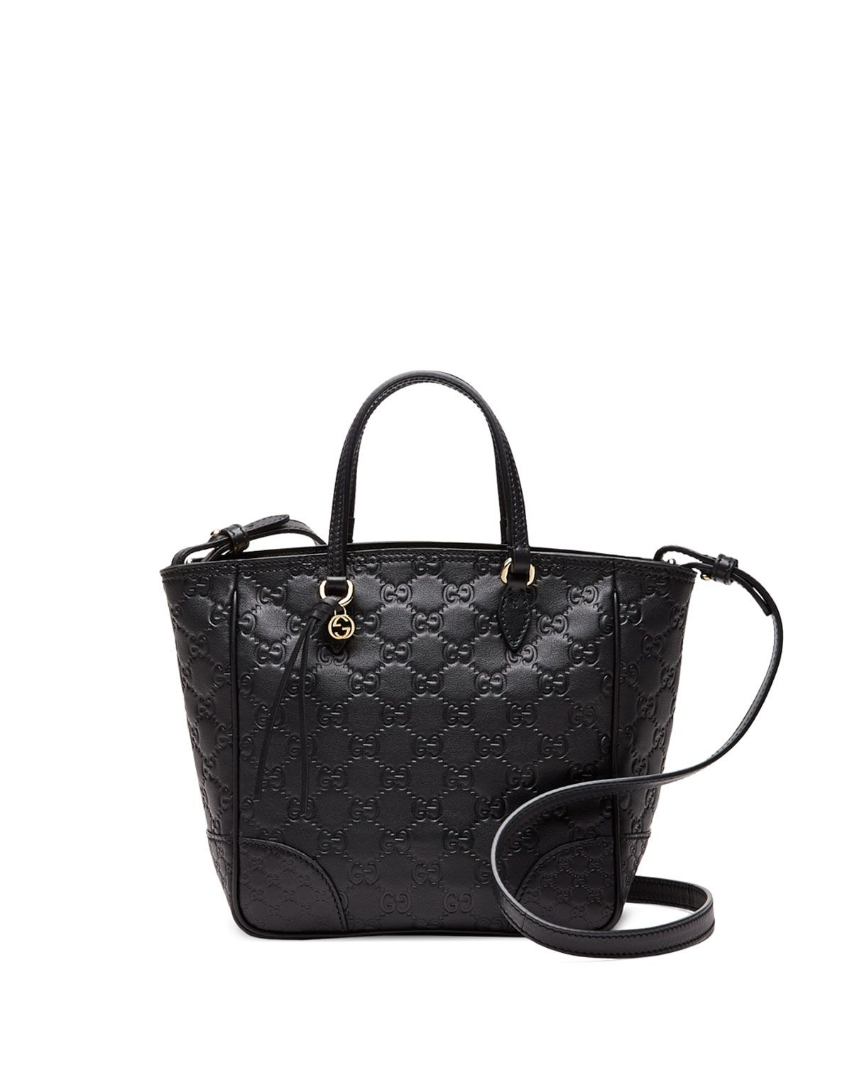 16bb78f8fb07 Bree Small Guccissima Tote Bag, Black | Products | Pinterest | Tote ...