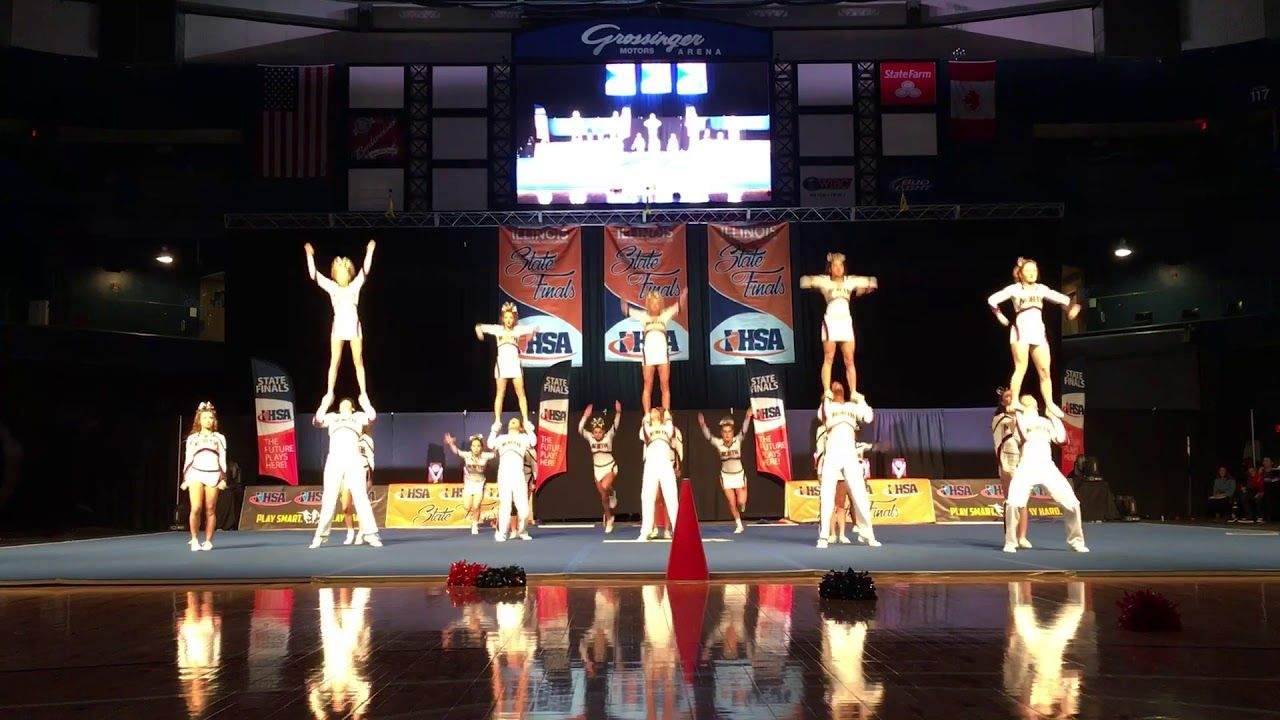 State Champs Belvidere North Coed Cheerleading 2018 Ihsa State Champs Cheerleading Champs