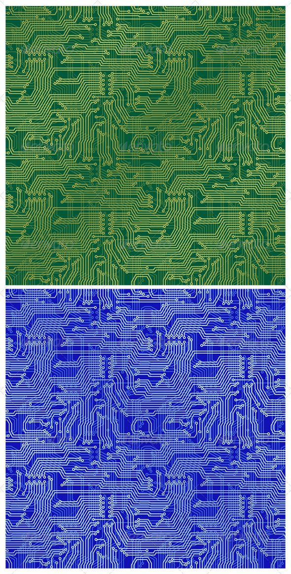 Blue Circuit Board Wallpaper Vector Circuit Board Blue