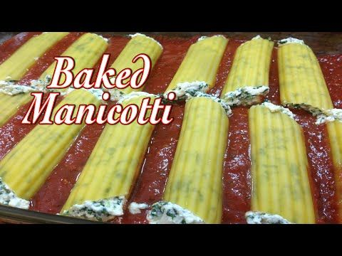 Baked manicotti cooking recipe video in ethnic cuisine and italian baked manicotti cooking recipe video in ethnic cuisine and italian food foods my recipe forumfinder Image collections