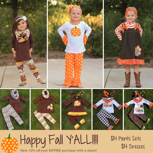 More Fall Thanksgiving boutique outfits for kids!  4f9e26d02
