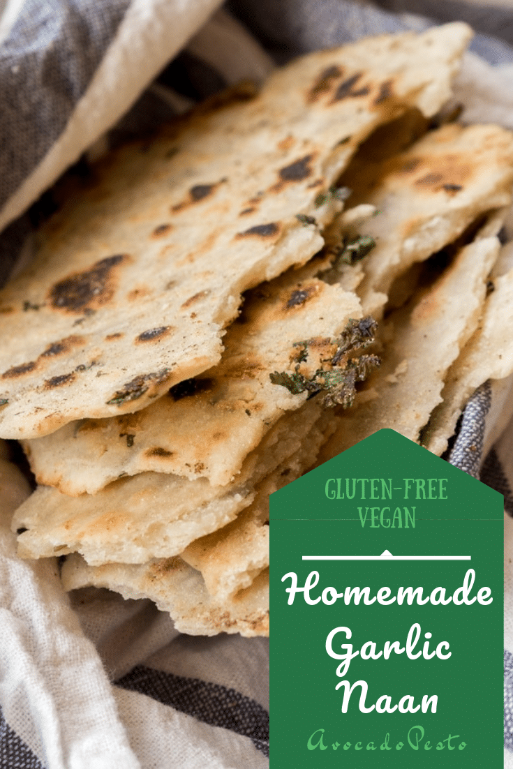 An authentic recipe for the classic Indian flat bread - garlic naan. My all time favorite bread for