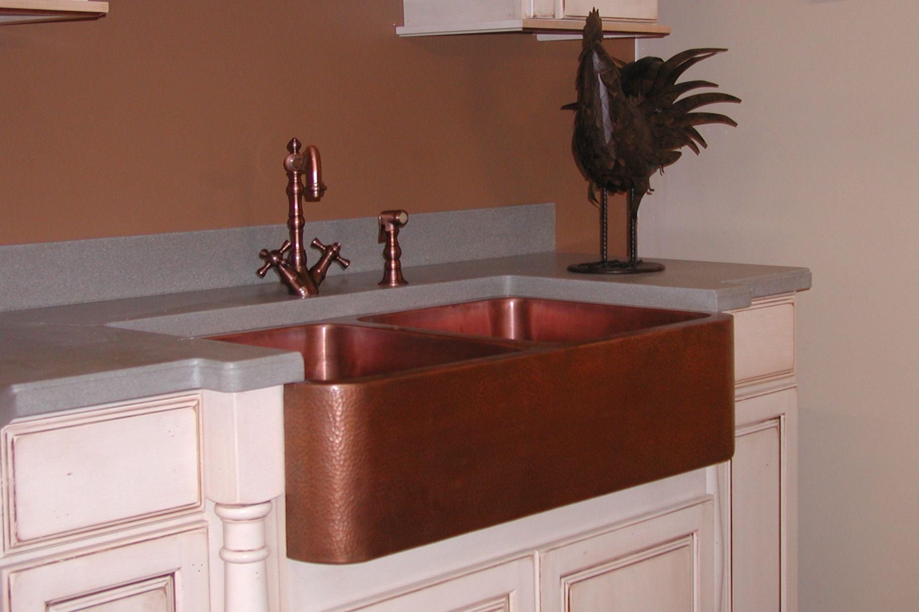 Kitchen Sink Apron front kitchen sink, White undermount