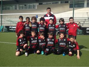 Aire acondicionado HITACHI apoya a los chicos del Club Deportivo San Tirso