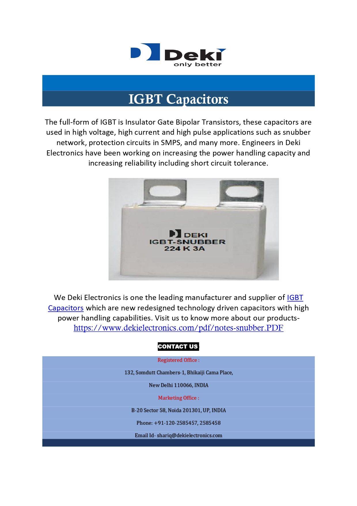 Pin On Igbt Capacitors