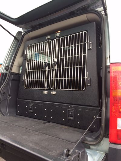 Land Rover Discovery 3 Combination Dog Box And Drawer System