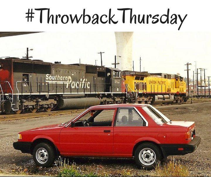 tbt 1989 nissan sentra throwbacks nissan nissan sentra cars rh pinterest co uk
