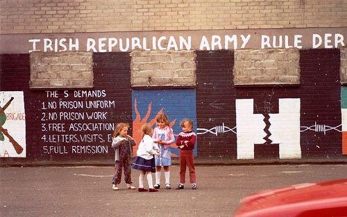 'Irish Republican Army Rule Derry' 1980s