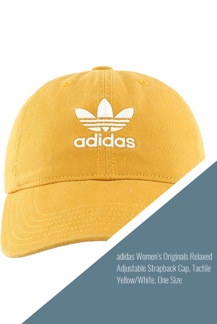 34e415e28 adidas Women's Originals Relaxed Adjustable Strapback Cap, Tactile ...
