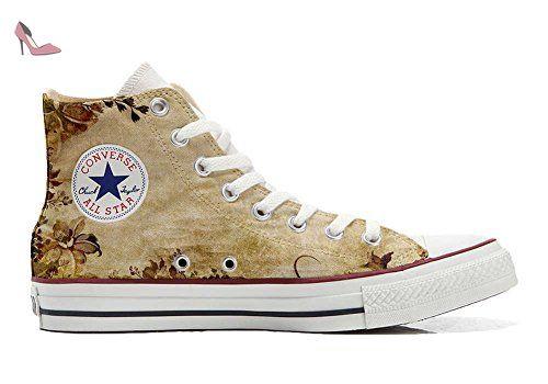 Converse All Star Chaussures Coutume Mixte Adulte (Produit Artisanal) Graffiti sfumati Viola - TG46 05eSQDy