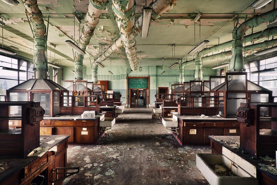 an old insane asylum