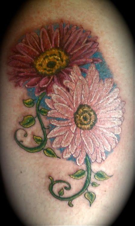 Gerbera Daisy Tattoo Design | tattoos i like | Pinterest