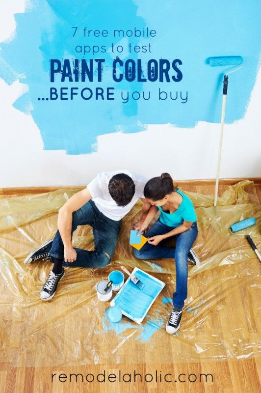 Ready To Paint Your Home Or Just Want Play Around With Color Use These Free Mobile S Test Colors Virtually Before Heading The