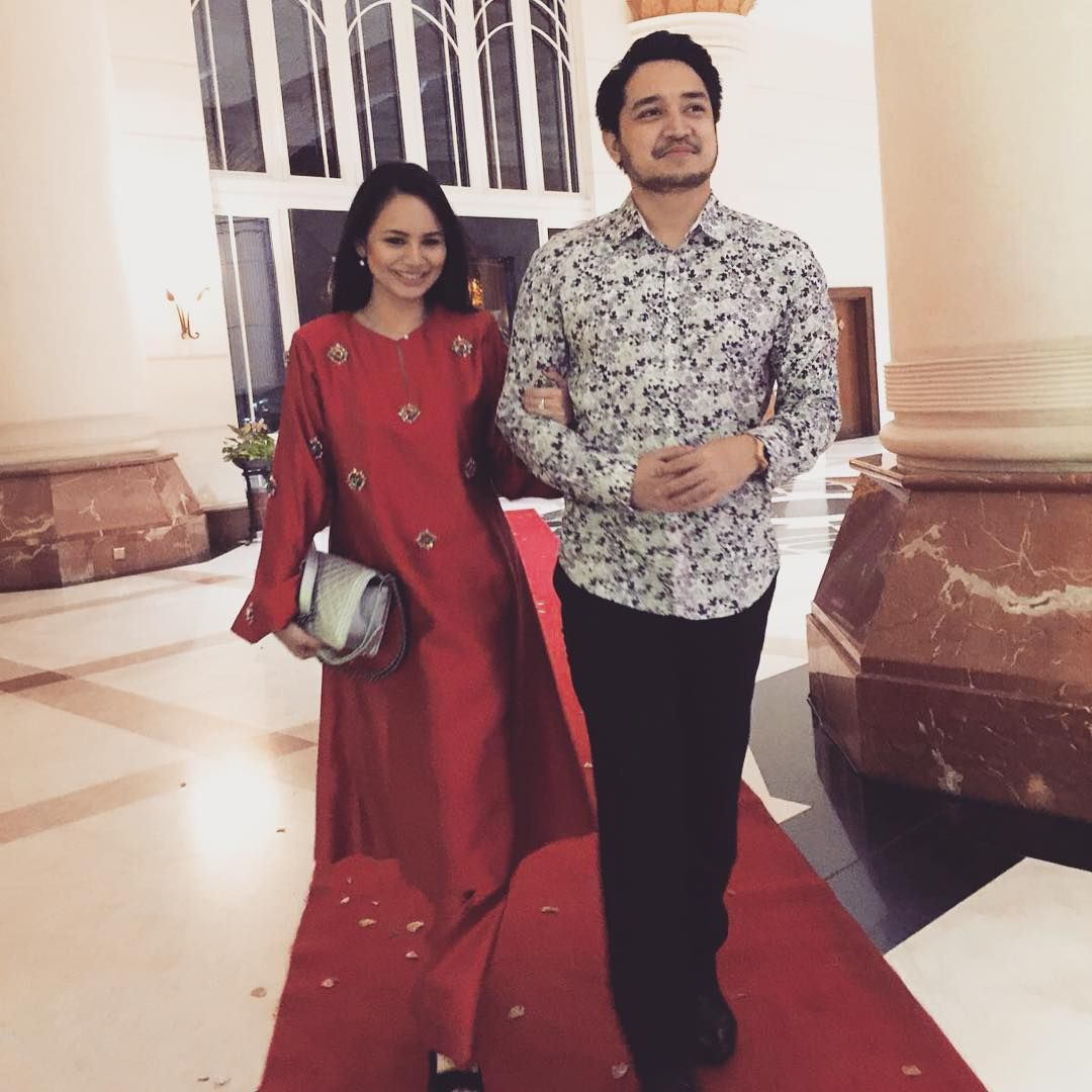 Izara Aishah Adib Khalid Umum Kahwin Model Pakaian Pakaian