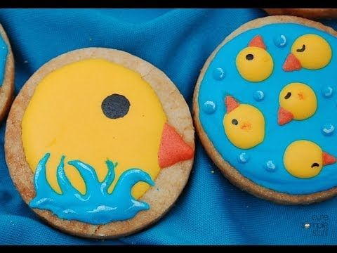 Chicks Decorated Cookies - Desserts for the Weekend Series!