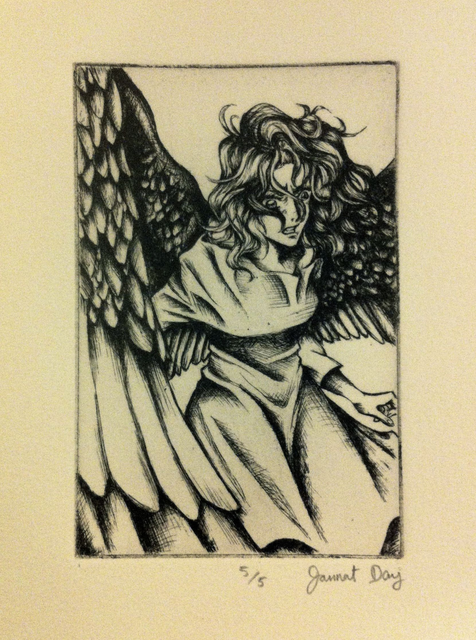 Etching max of maximum ride manga by james patterson and