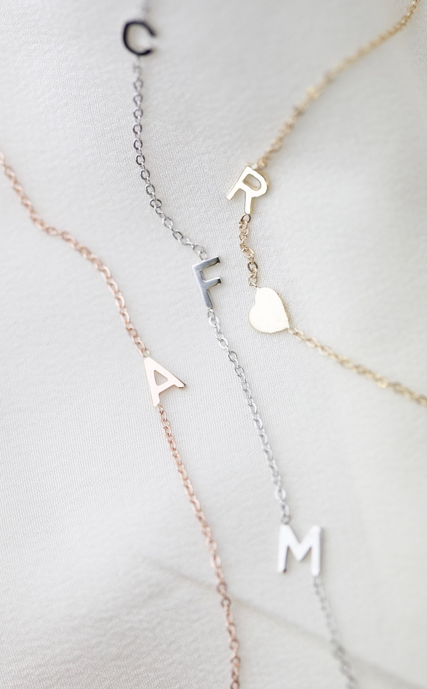 47++ Tiffany letter necklace m trends