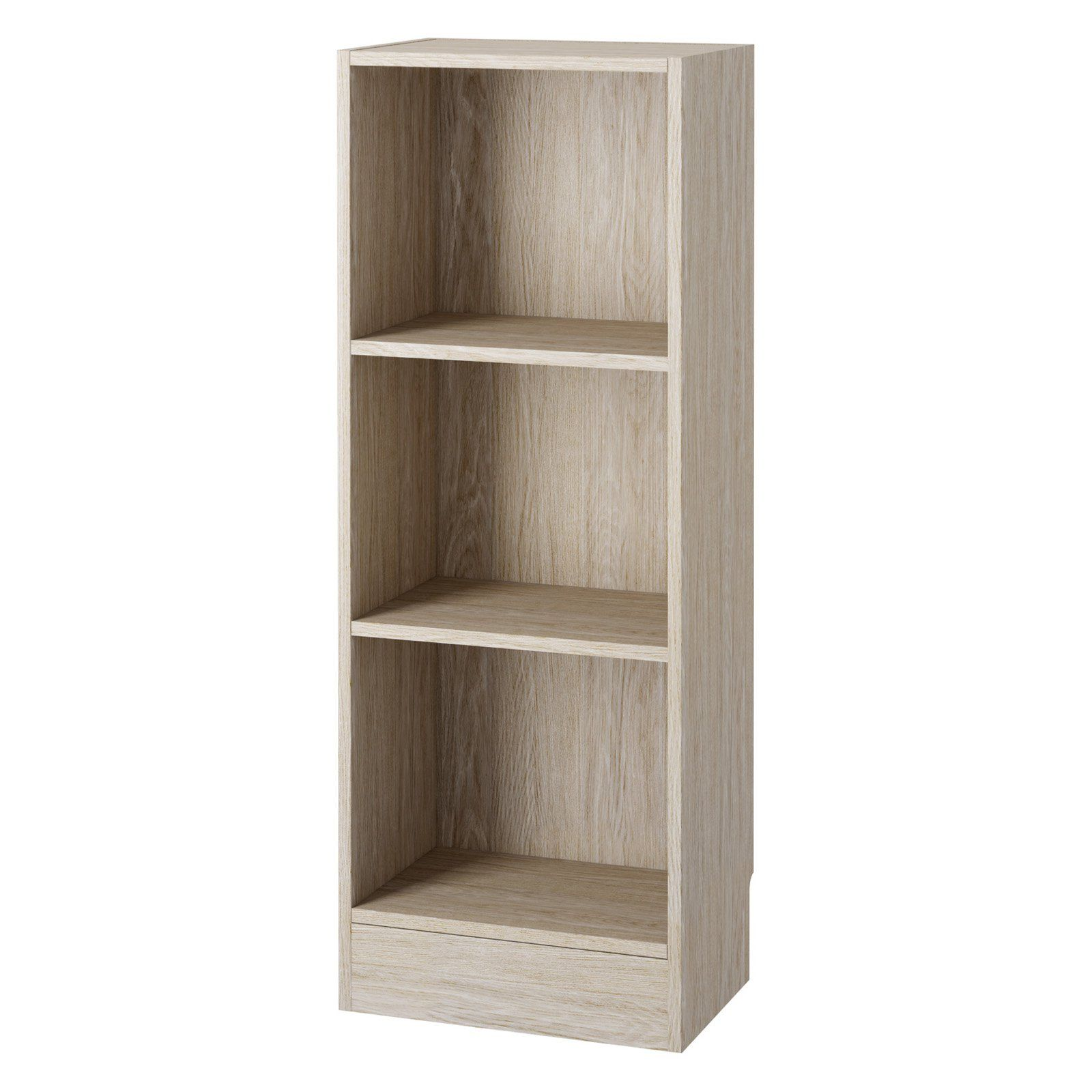 Tvilum Element Short Bookcase 3 Shelf Bookcase Bookcase Shelves