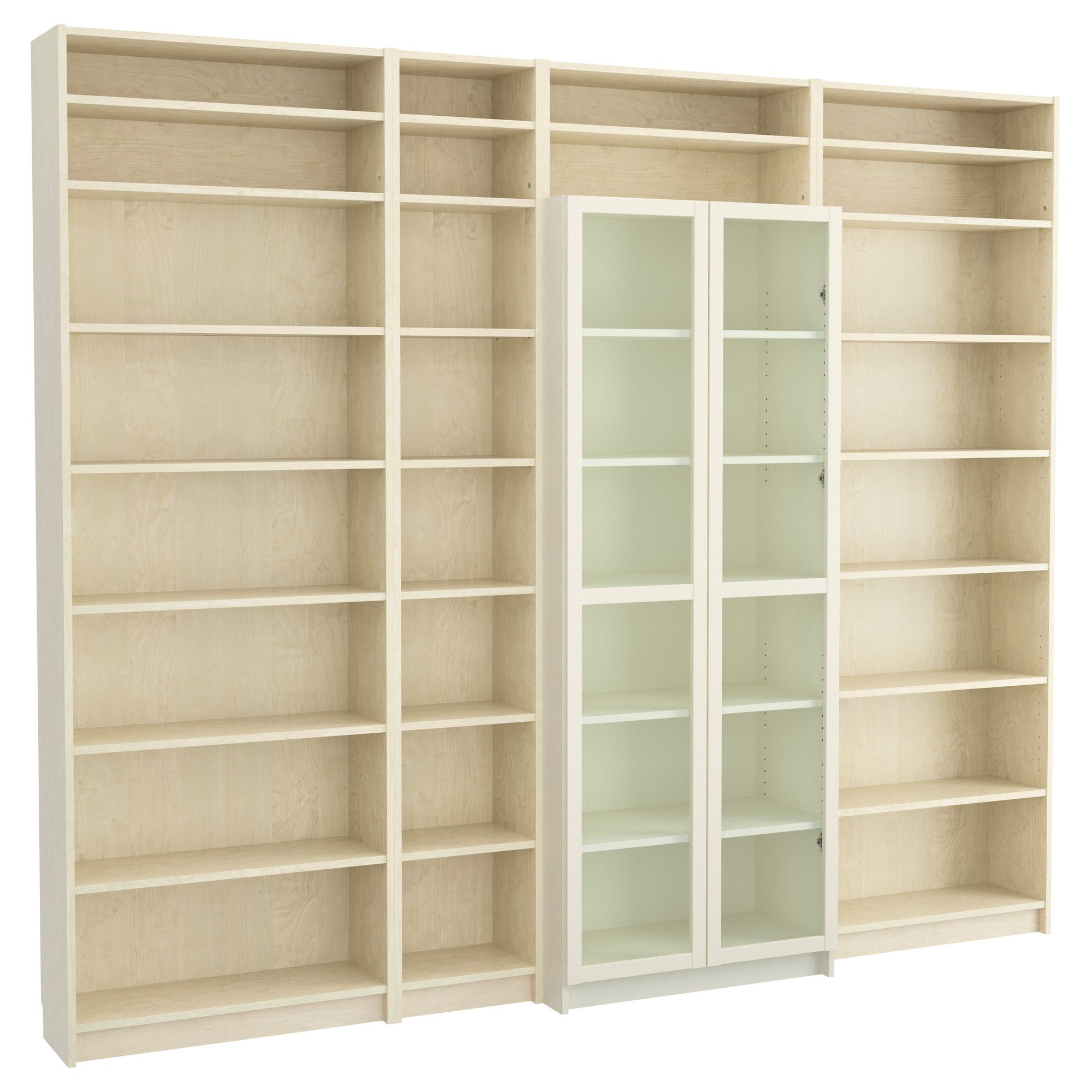 Billy Bookcase With Height Extension Unit Ikea