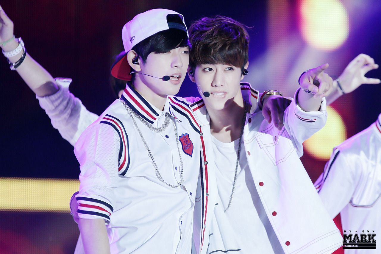 GOT7 | Jr & Mark | tumblr | © My Own Mark | Do not edit