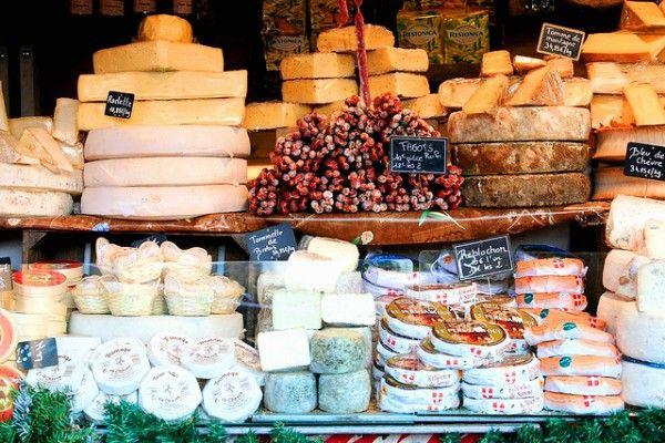 Cheeses: Bastille Market 11e or Place Monge Market, 12e